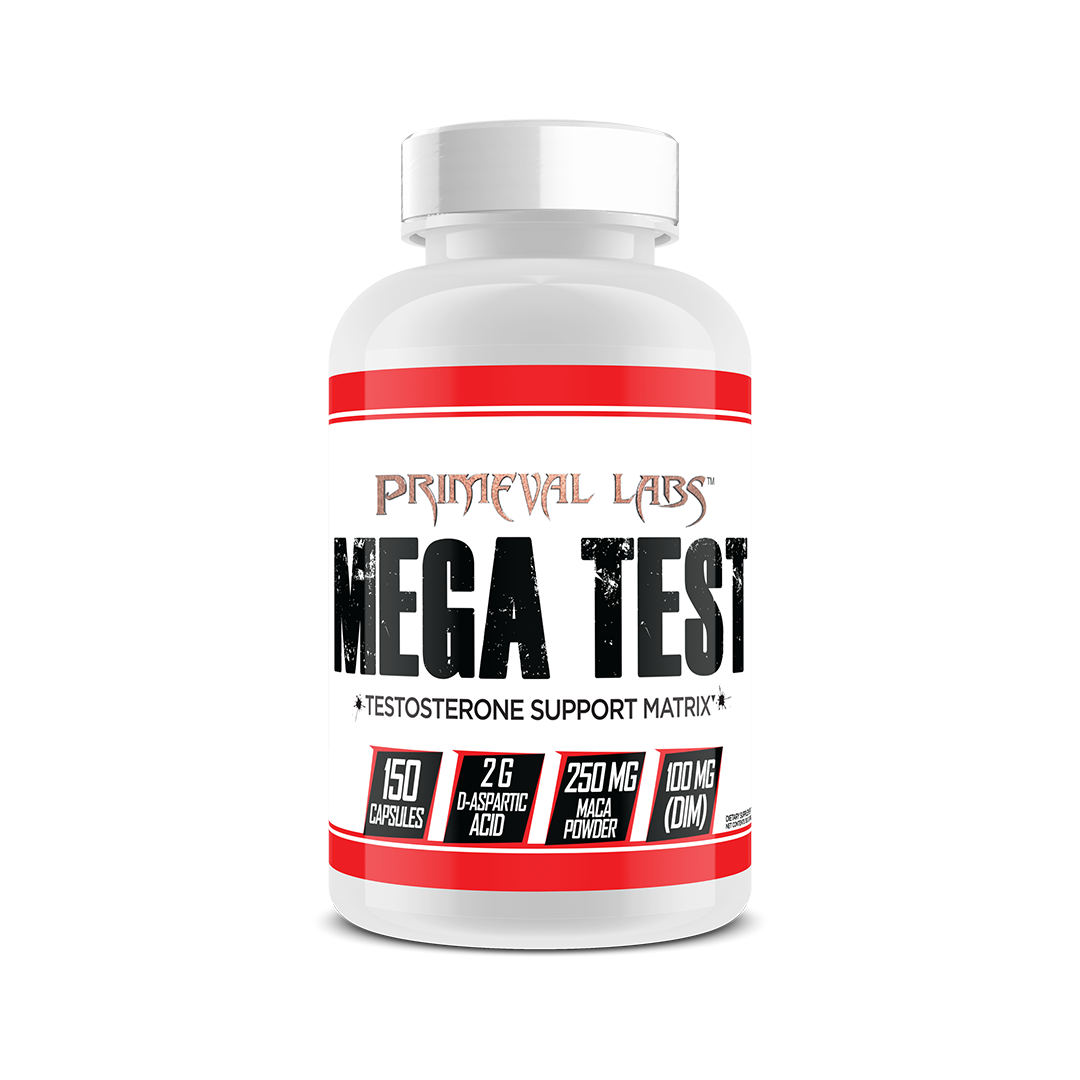 Testosterone Supplement Mega Test by Primeval Labs
