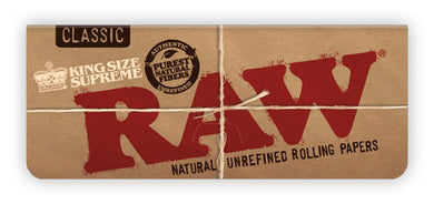 RAW Classic Creaseless Kingsize Supreme Papers - Shag Alternative Superstore