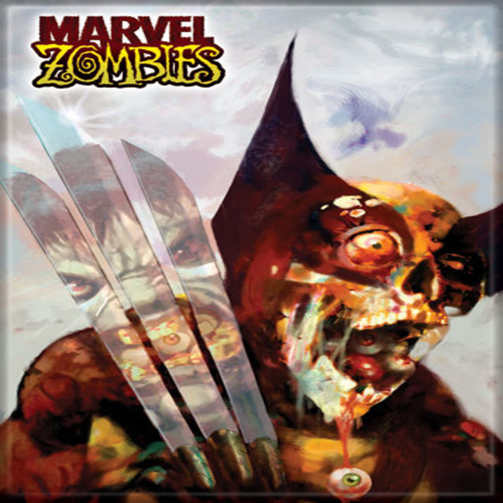 Marvel Zombies Wolverine Hulk Magnet - Shag Alternative Superstore