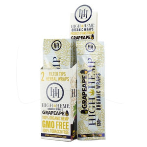High Hemp Wraps - Grape Ape (2 Pack) - Shag Alternative Superstore