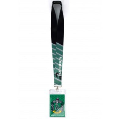 Harry Potter Slytherin Deluxe Lanyard With Card Holder