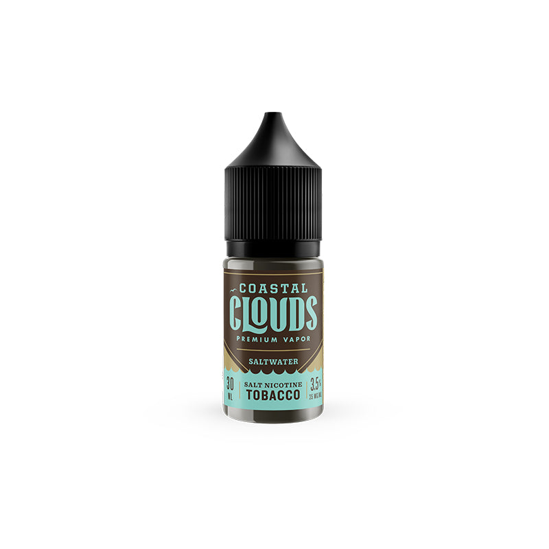 Coastal Clouds: Saltwater Tobacco 30ml - Shag Alternative Superstore