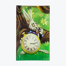Load image into Gallery viewer, White Rabbit Glass Rolling Tray - Shag Alternative Superstore