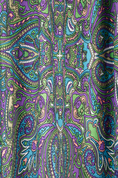 Kaleidoscope Paisley Curtain Tapestry (56