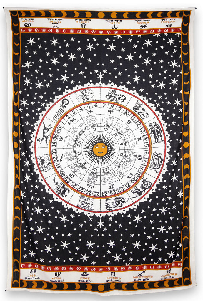 Astrology Chart Tapestry Tablecloth (52