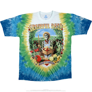 Grateful Dead Let It Grow Tie Dye Shirt - Shag Alternative Superstore