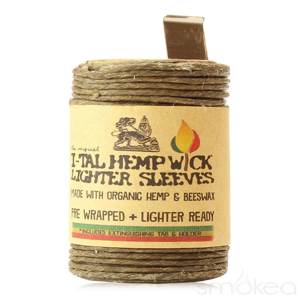 I-Tal Hemp Wick Lighter Sleeve - 15.5ft