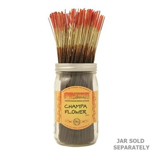 "Wildberry Incense 11"" - Champa Flower - Shag Alternative Superstore"