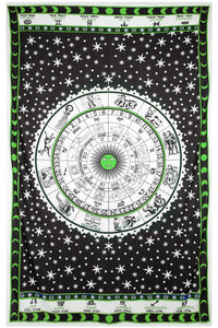Astrology Chart Tapestry Tablecloth - Asst Colors - Shag Alternative Superstore