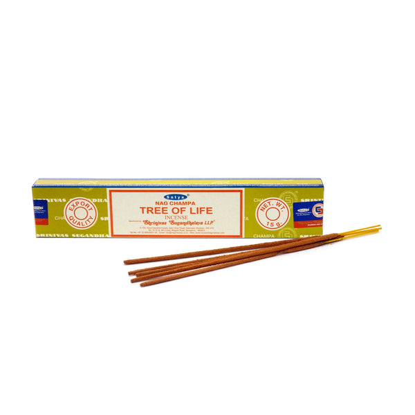 Satya Tree of Life Incense 15g - Shag Alternative Superstore
