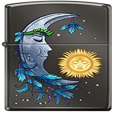 Sun and Moon Zippo Lighter