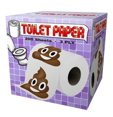 Poo Emoji Toilet Paper - Shag Alternative Superstore