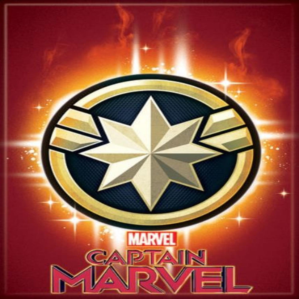 Marvel Captain Marvel Star Magnet - Shag Alternative Superstore
