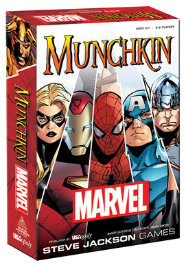 MUNCHKIN: Marvel Edition - Shag Alternative Superstore