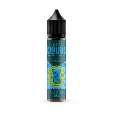 Coastal Clouds: Blueberry Limeade 60ml - Shag Alternative Superstore