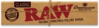 RAW Classic Connoisseur Kingsize Slim Papers + Tips - Shag Alternative Superstore