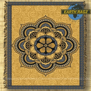 "Mandala Tapestry Blanket (60""x80"") - Assorted Colors - Shag Alternative Superstore"