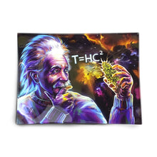 Load image into Gallery viewer, T=HC² Black Hole Glass Rolling Tray