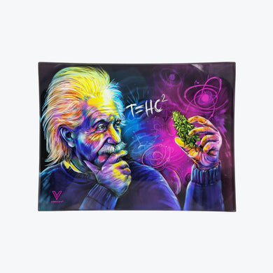 T=HC² Glass Rolling Tray - Small - Shag Alternative Superstore
