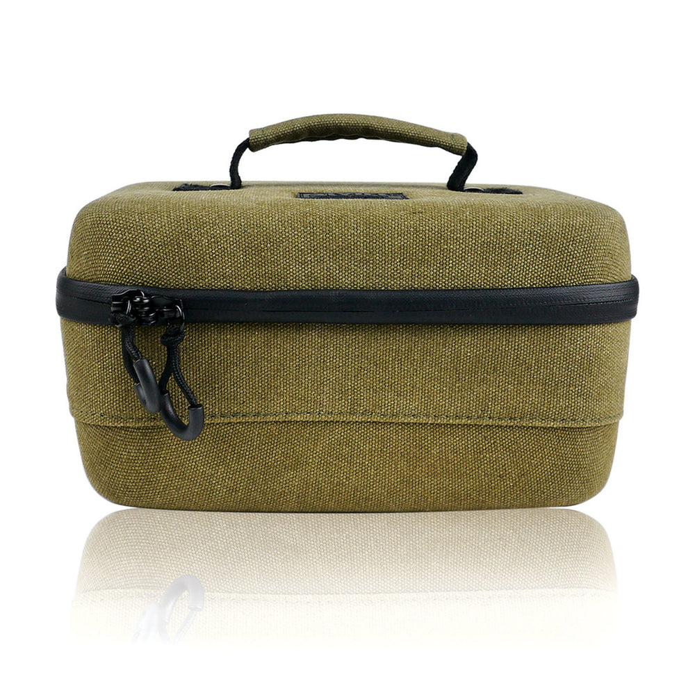 RYOT Carbon Series SmellSafe Safe Case - Large 4.0L Olive - Shag Alternative Superstore
