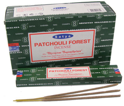 Satya Patchouli Forest Incense - Asst Sizes - Shag Alternative Superstore