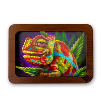 V-Syndicate High Def 3D Wood Rolling Tray - Small