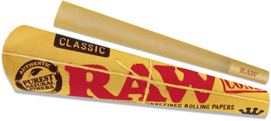 RAW Classic Kingsize Cones - Shag Alternative Superstore