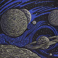 "3-D Glow In The Dark Galactic Space Tapestry (90""x60"") - Shag Alternative Superstore"