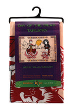 "Load image into Gallery viewer, Day Of The Dead Tapestry (90""x60"") - Shag Alternative Superstore"
