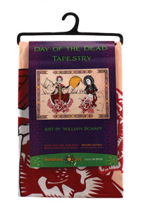 "Day Of The Dead Tapestry (90""x60"") - Shag Alternative Superstore"