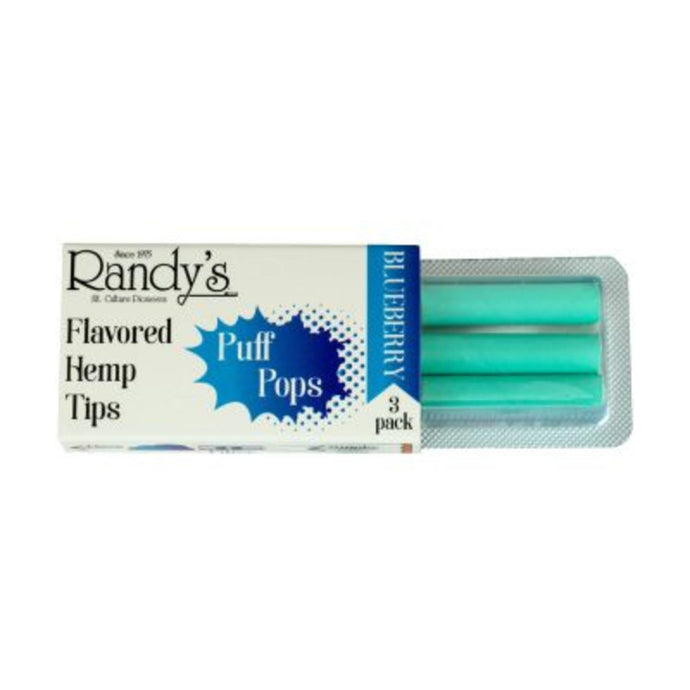 Randy's Puff Pops Flavored Hemp Tips 3 Pack - Assorted Flavors - Shag Alternative Superstore