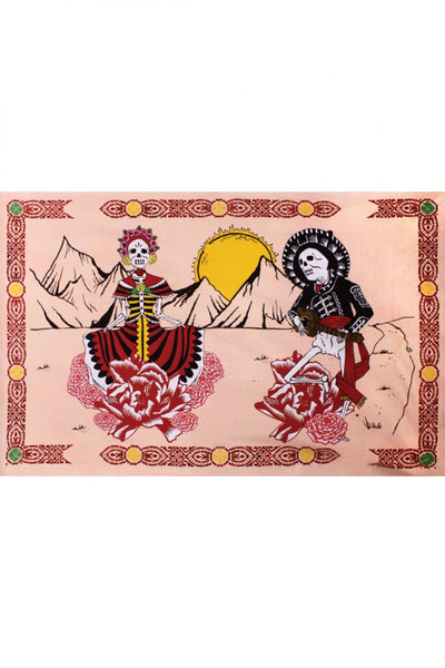Day Of The Dead Tapestry (90