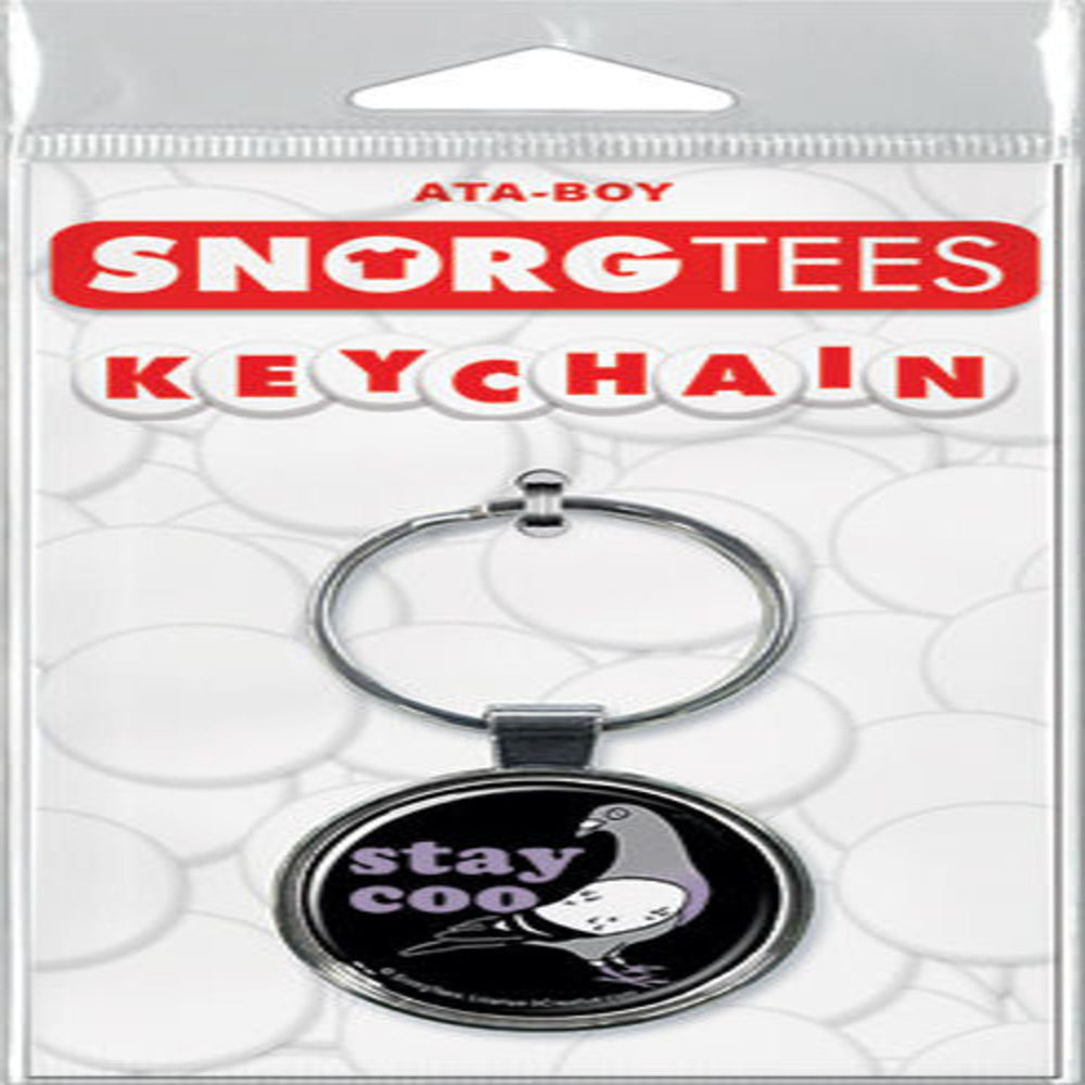 Stay Coo Pigeon Keychain - Shag Alternative Superstore