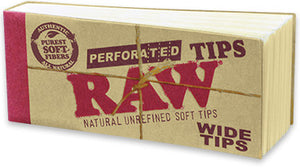 RAW Perforated Wide Tips - Shag Alternative Superstore