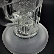 "Load image into Gallery viewer, Milky Way Glass Sandblasted Phoenix Rig (9"") - Shag Alternative Superstore"
