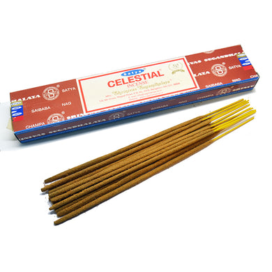 Satya Celestial Incense - Asst Sizes - Shag Alternative Superstore