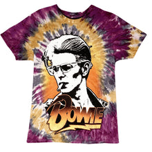 Load image into Gallery viewer, Bowie Smokin' Tie Dye T-Shirt