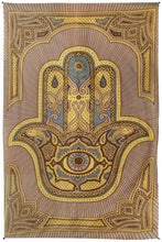 "Load image into Gallery viewer, Hamsa Hand Tapestry (52""x80"") - Asst Colors - Shag Alternative Superstore"