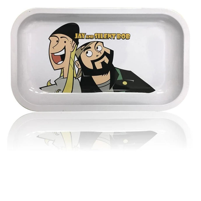 Famous Brandz: Jay & Silent Bob Rolling Tray - Shag Alternative Superstore