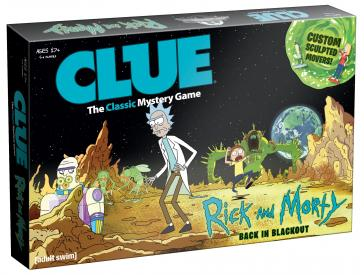 CLUE: Rick and Morty Back in Blackout Edition - Shag Alternative Superstore