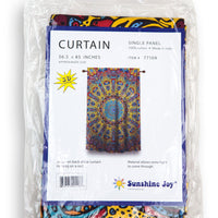 "Sunburst Curtain (56.5""x85"") - Shag Alternative Superstore"