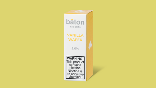 Baton Salts: Vanilla Wafer 10ml - Shag Alternative Superstore