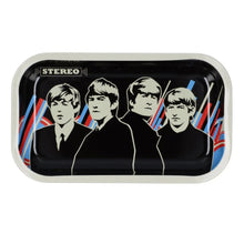 Load image into Gallery viewer, Famous Brandz: Rock Legends Fab 4 Stereo Metal Rolling Tray - Medium