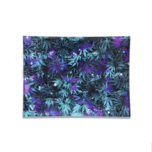 Cosmic Chronic Glass Rolling Tray - Small