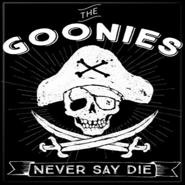 The Goonies Never Say Die Magnet - Shag Alternative Superstore