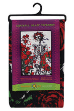 "Load image into Gallery viewer, 3-D Grateful Dead Skeleton Tapestry (60""x90"") - Shag Alternative Superstore"