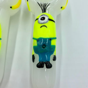 "Minion Glow Spoon Hand Pipe (5"") - Shag Alternative Superstore"