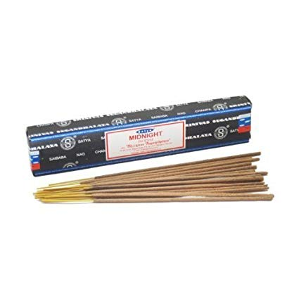 Satya Midnight Incense - Asst Sizes - Shag Alternative Superstore