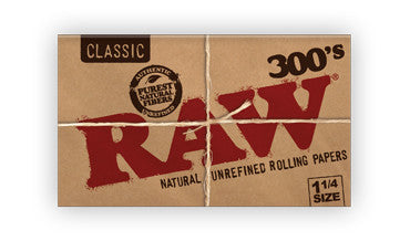 RAW Classic Creaseless 1¼ 300's - Shag Alternative Superstore