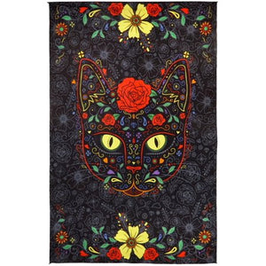 "3-D Sugar Kitty Tapestry (60""x90"") - Shag Alternative Superstore"